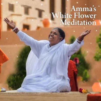 Amma White Flower Meditation