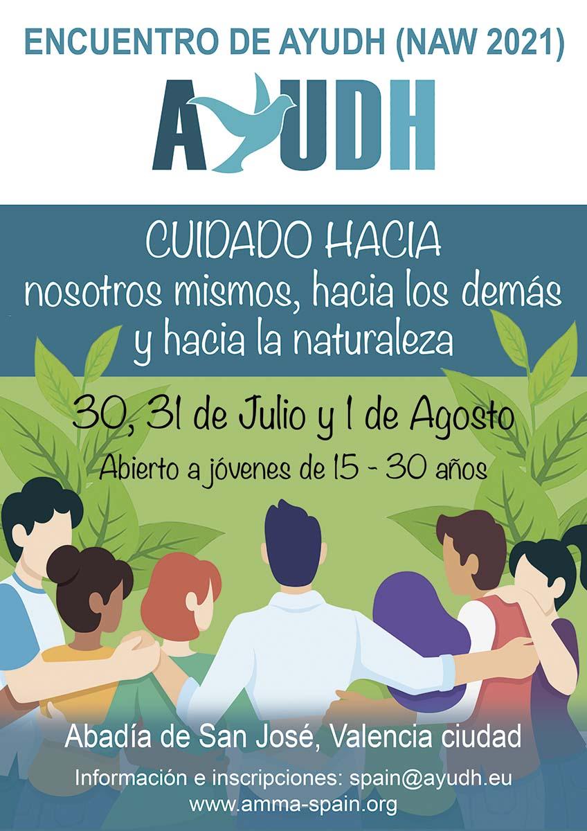 cartel ayudh encuentro2021
