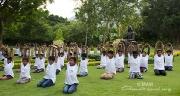 Celebración del Día Internacional del Yoga en las escuelas de Amma, ashrams, centros y grupos de satsang en todo el mundo