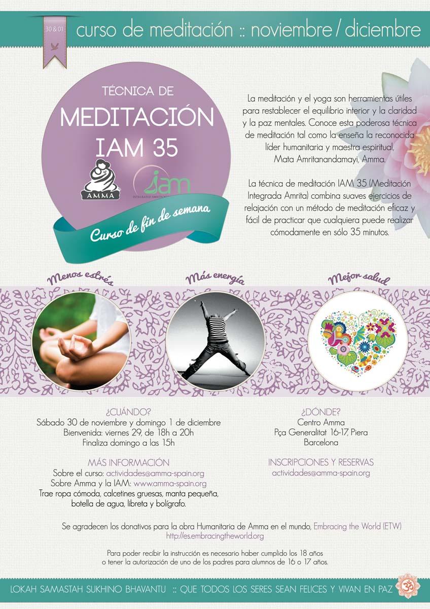 CURSO DE MEDITACION IAM PIERA