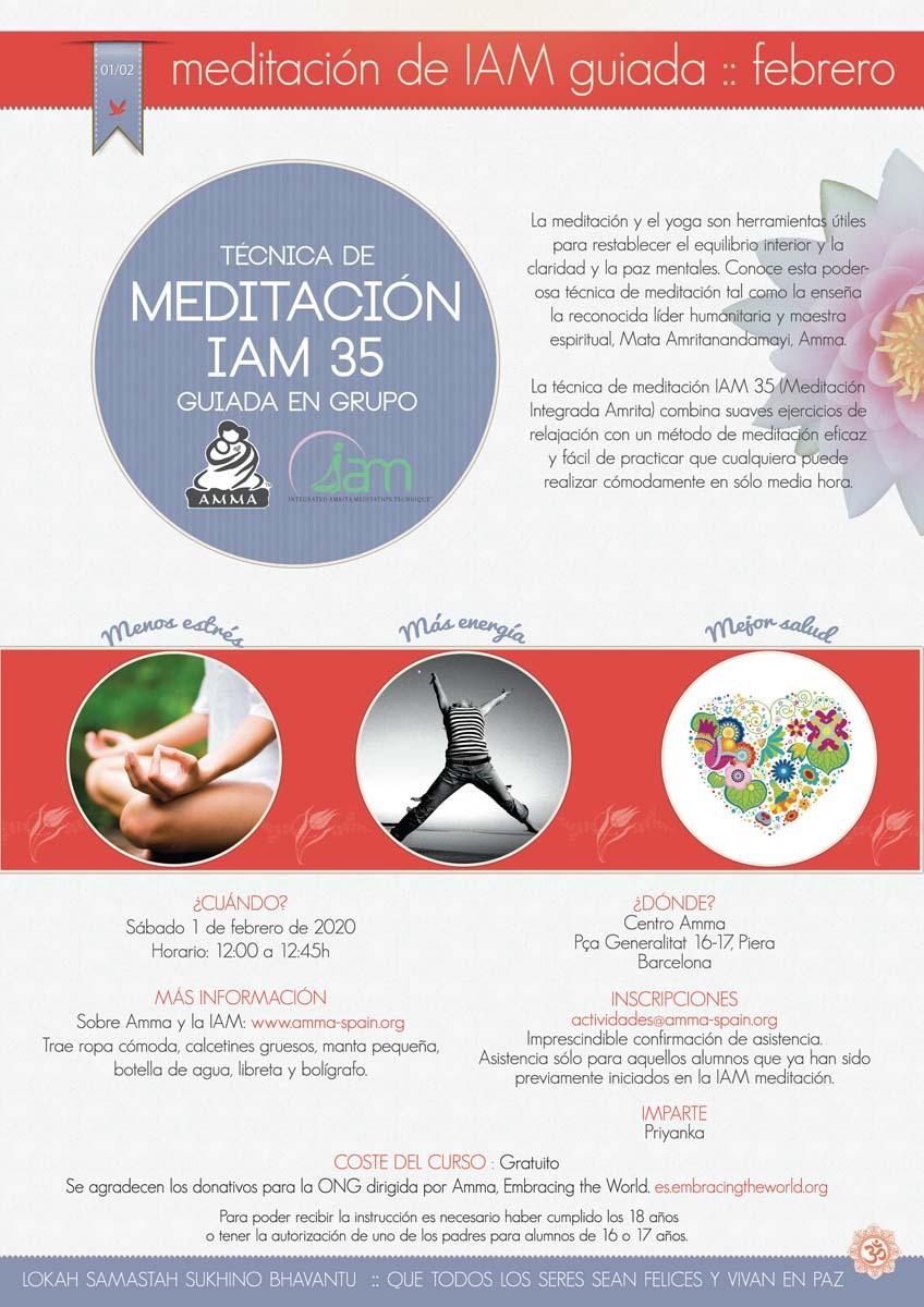 MEDITACIÓN IAM GUIADA EN PIERA (BARCELONA)