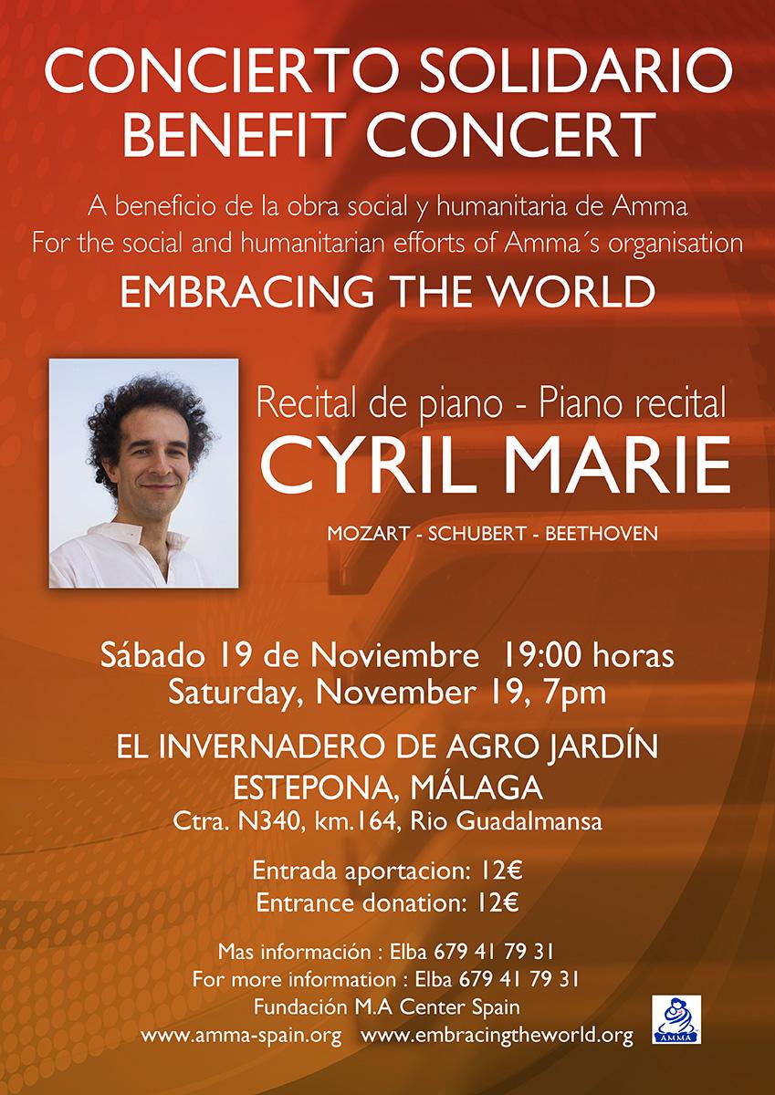 Actividades realizadas s bado 19 de noviembre concierto for Agro jardin estepona