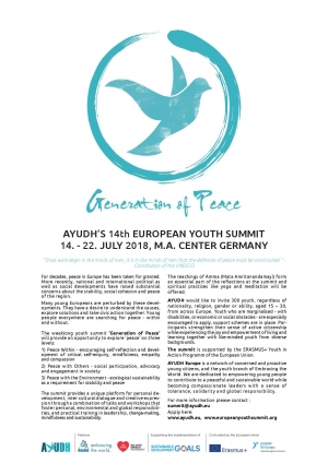 AYUDH's 14th European Youth Summit